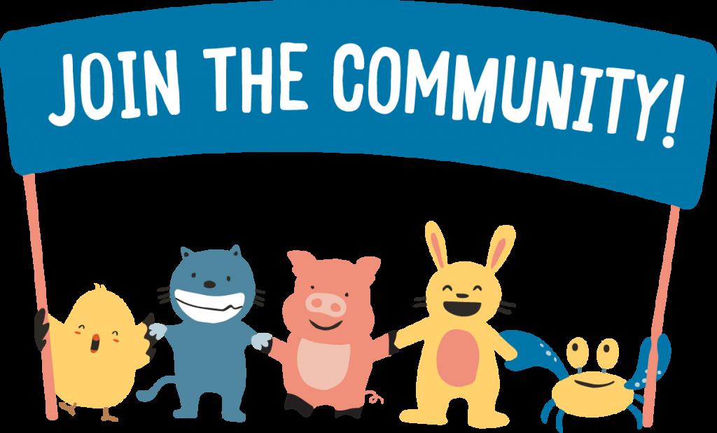 community YouTube promotion