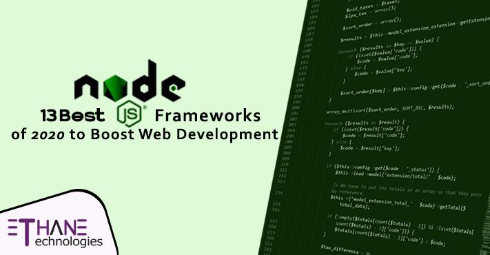 Best Node.JS Frameworks Of 2020